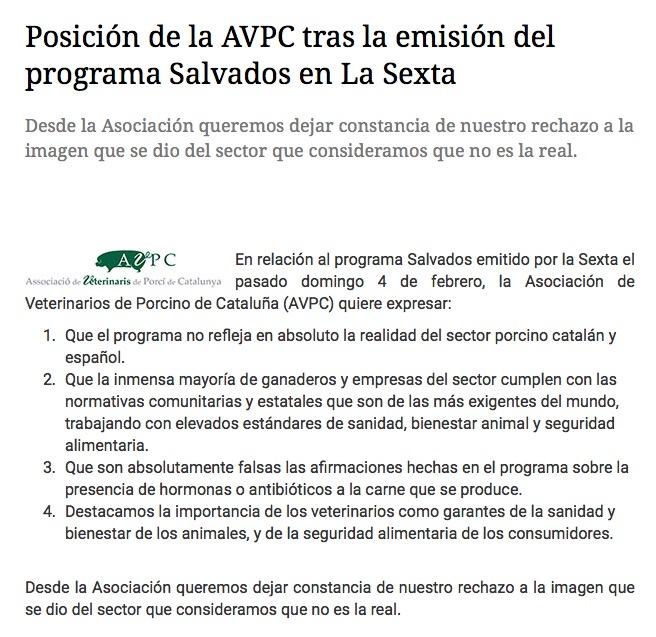 Asociacion Veterinarios Porcino Cataluña