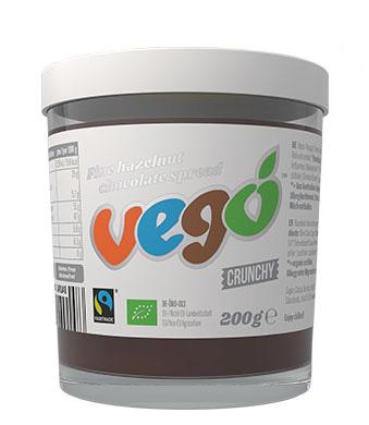 crema de chocolate vegana vego