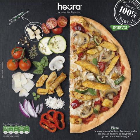 pizza vegana Heura