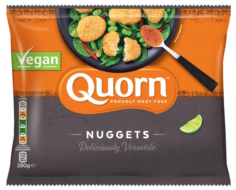 quorn nuggets veganos